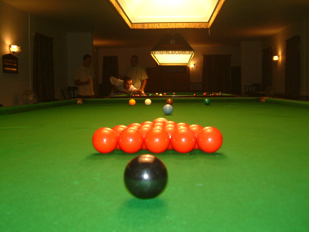 pool or snooker